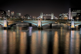 Southwark Bridge HDR