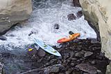 Two Abandoned Kayaks