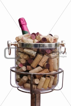 Champagne With Corks