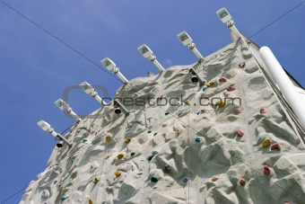 Climbing Wall From Below