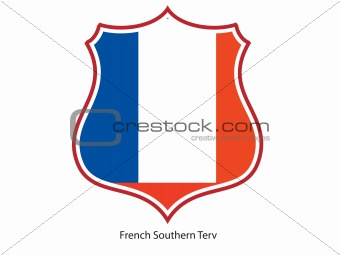 French Southern Terv flag
