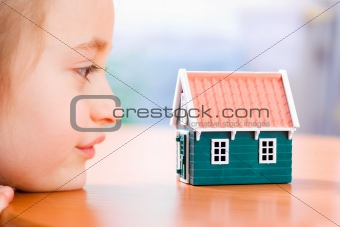 Dreaming about a new house