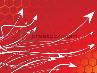 abstract shapes series vector with graphic