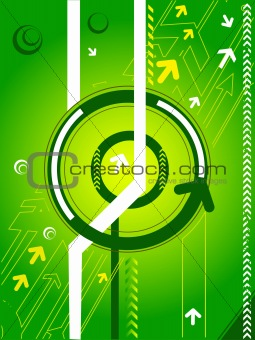 modern vector arrow background
