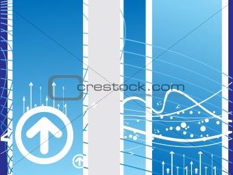 arrows vector background