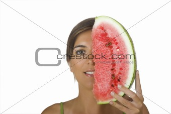 Watermellon girl