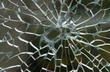 Shattered Glass Pane
