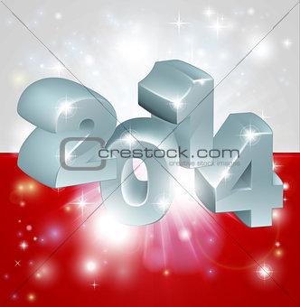 2014 Polish flag
