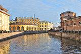 St. Petersburg. Moika  river embankment