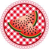 Watermelon Label Design