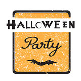 halloween party stamp