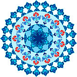 blue ottoman serial patterns fifteen