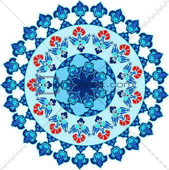 blue ottoman serial patterns fifteen