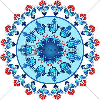 blue ottoman serial patterns fourteen