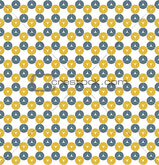 Abstract vector seamless retro background