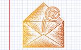 e-mail sketch