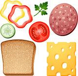 Sandwich elements