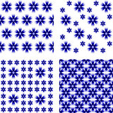 Design seamless cornflower pattern