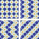 Design seamless flower pattern