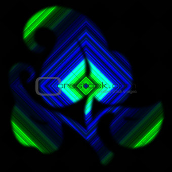 Abstract Background Diamond Colors