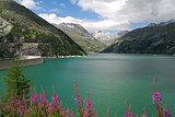 Austrian Dam in the Alps