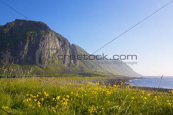 Cliffs in Eggum