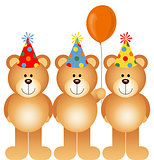 Happy Birthday Teddy Bears