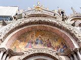 Basilica San Marco; facade particular