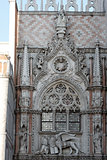 Venice, Piazza San Marco; particular of Palazzo Ducale