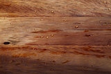 Wooden kitchen board with water drops