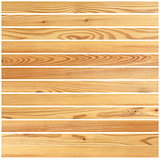 wooden boards forming parquet design