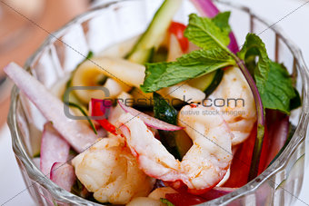 Asian appetizer - Yam talay