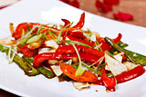 Oriental main course - Stir fried vegetables