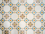 antique mosiac floor background