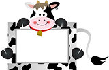 Cow with Bank Label