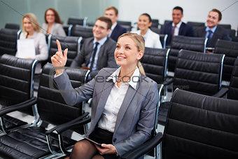 Smart businesswoman