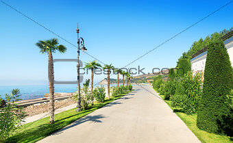 Beautiful promenade