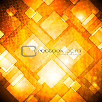 Colourful grunge tech vector background