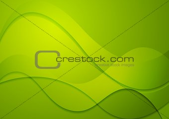 Colourful vector abstract wavy background