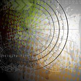 Abstract grunge vector backdrop