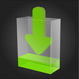 Transparent Download Box