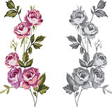 Decorative roses