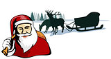 Santa Claus Retro