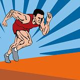 Sprinter Running