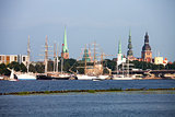Tall ships in Riga