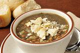 Cup of lentil soup