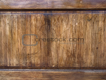 old wooden panel