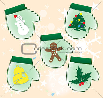 Christmas collection : Gift gloves