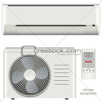 Air conditioner system set