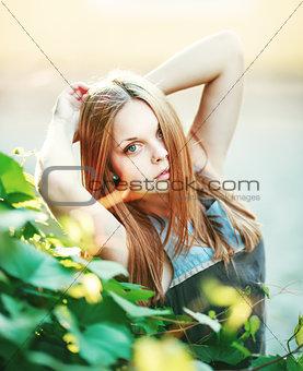 Beautiful Teenage  girl.